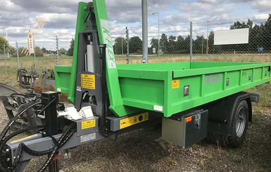 K-vagnen Lastväxlarsystemet K-Flex FV 5000